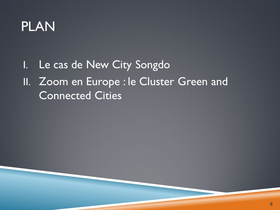 Plan Le cas de New City Songdo