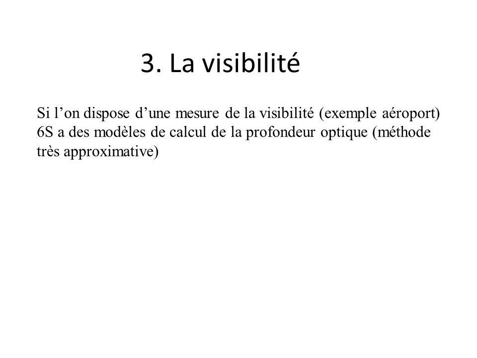 3. La visibilité