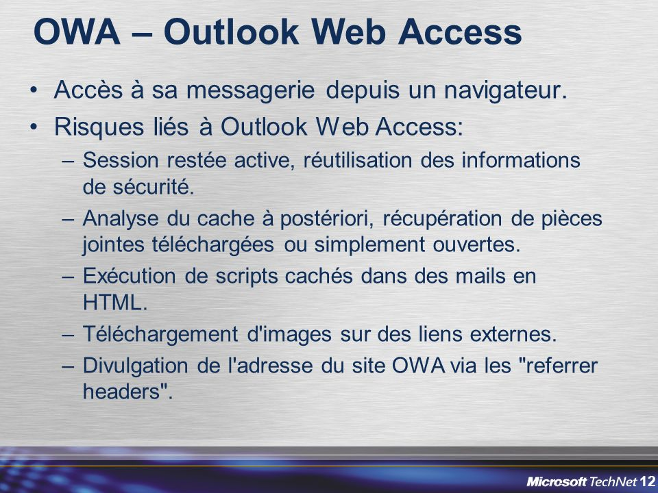 OWA – Outlook Web Access