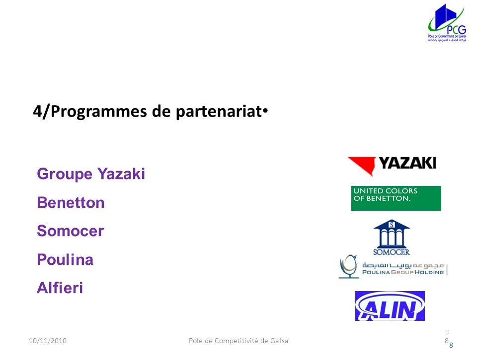 4/Programmes de partenariat