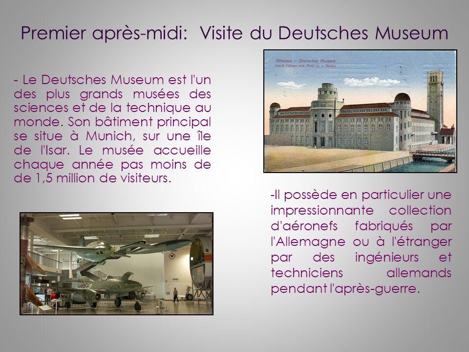 Premier après-midi: Visite du Deutsches Museum