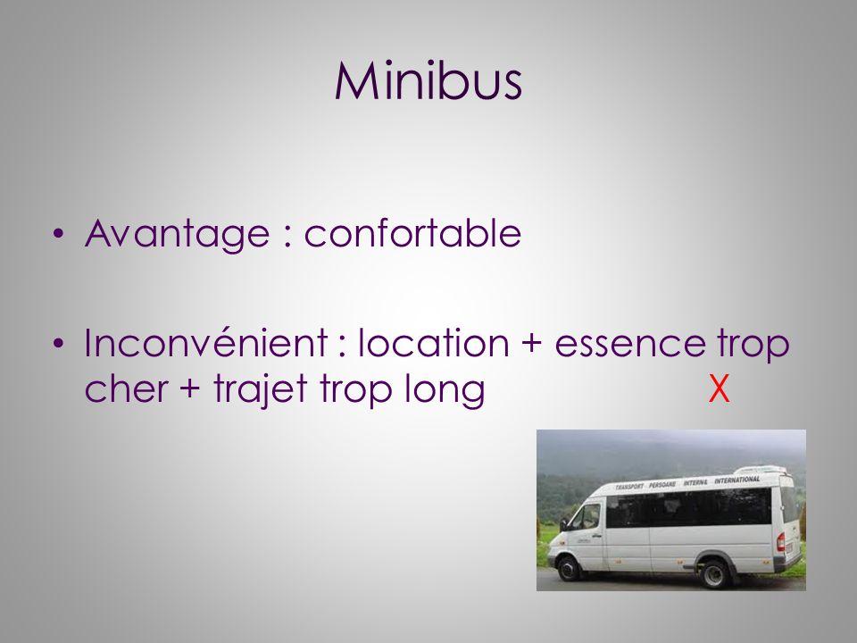 Minibus Avantage : confortable