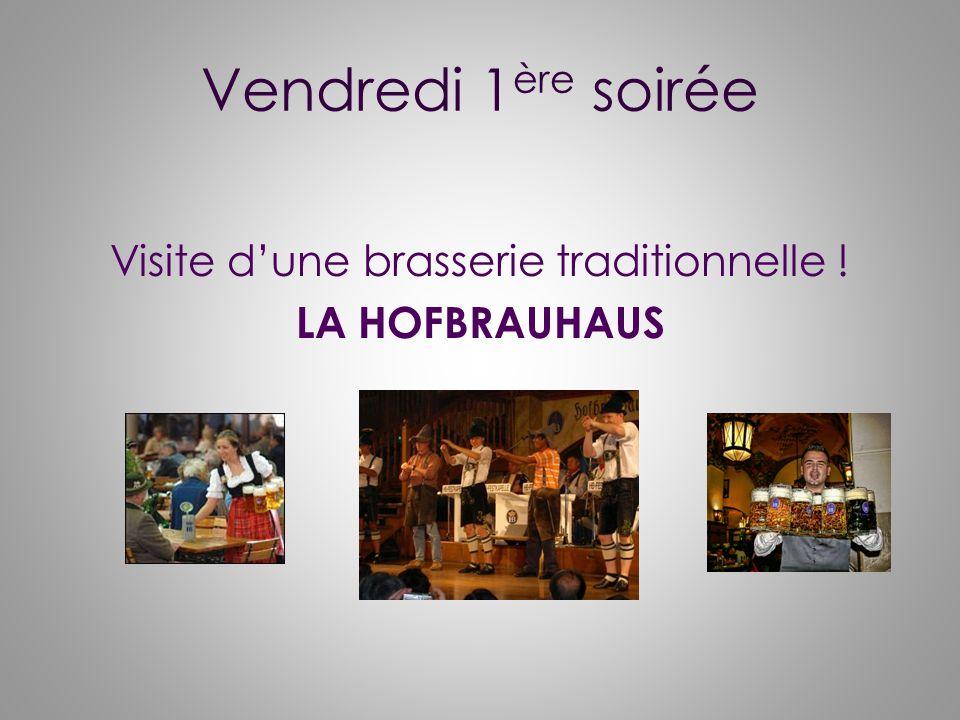 Visite d'une brasserie traditionnelle ! LA HOFBRAUHAUS