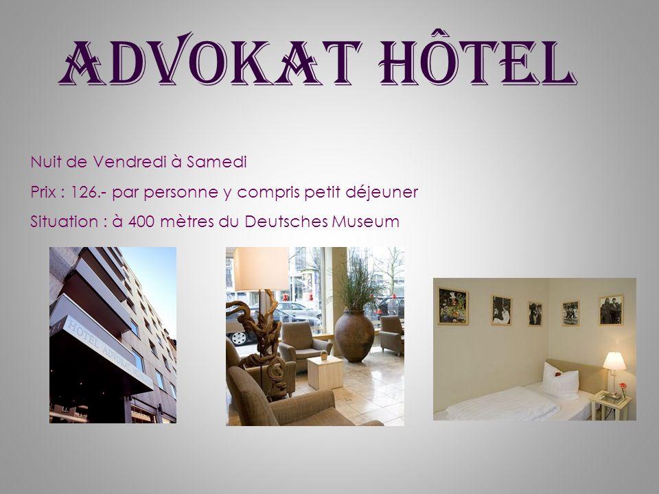 Advokat Hôtel Nuit de Vendredi à Samedi