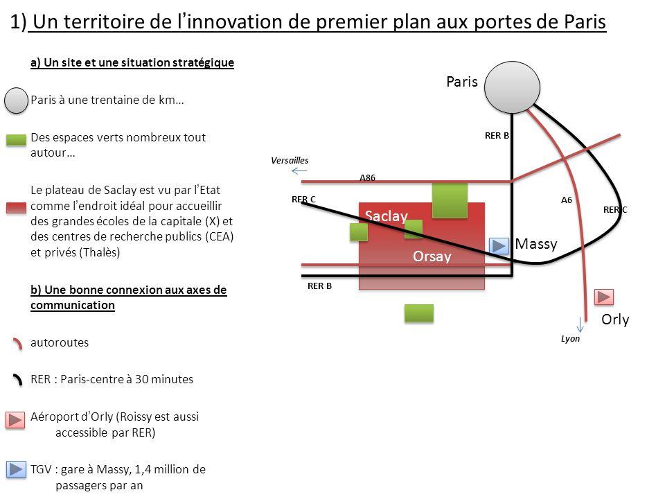 Les dynamiques des espaces productifs dans la - Paris gare de lyon porte de versailles ...
