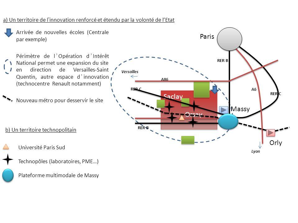 Paris Saclay Orsay Massy Orly