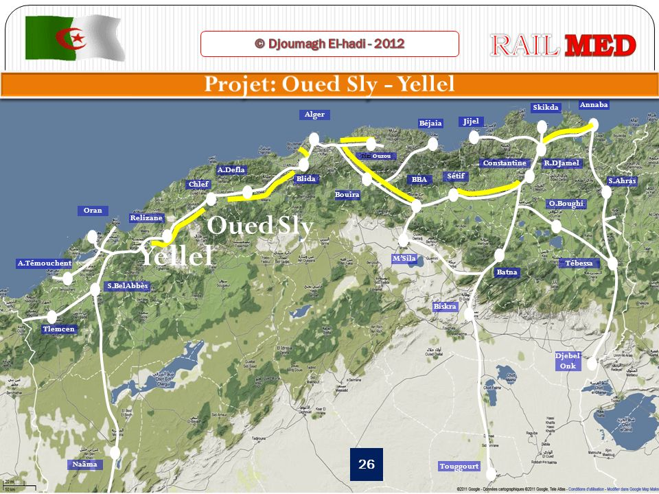 Projet: Oued Sly - Yellel