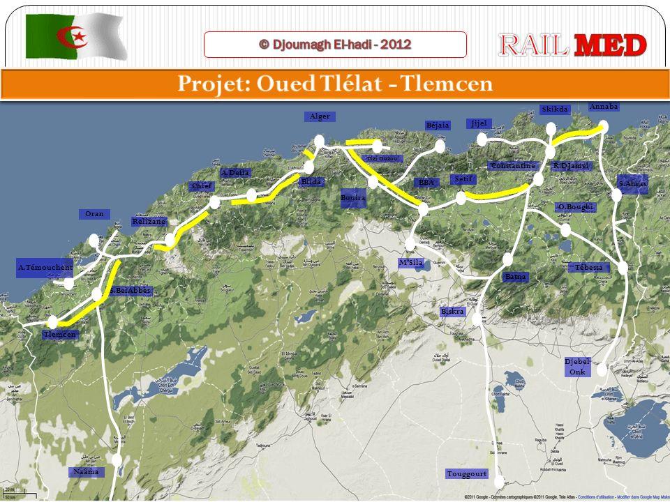 Projet: Oued Tlélat - Tlemcen
