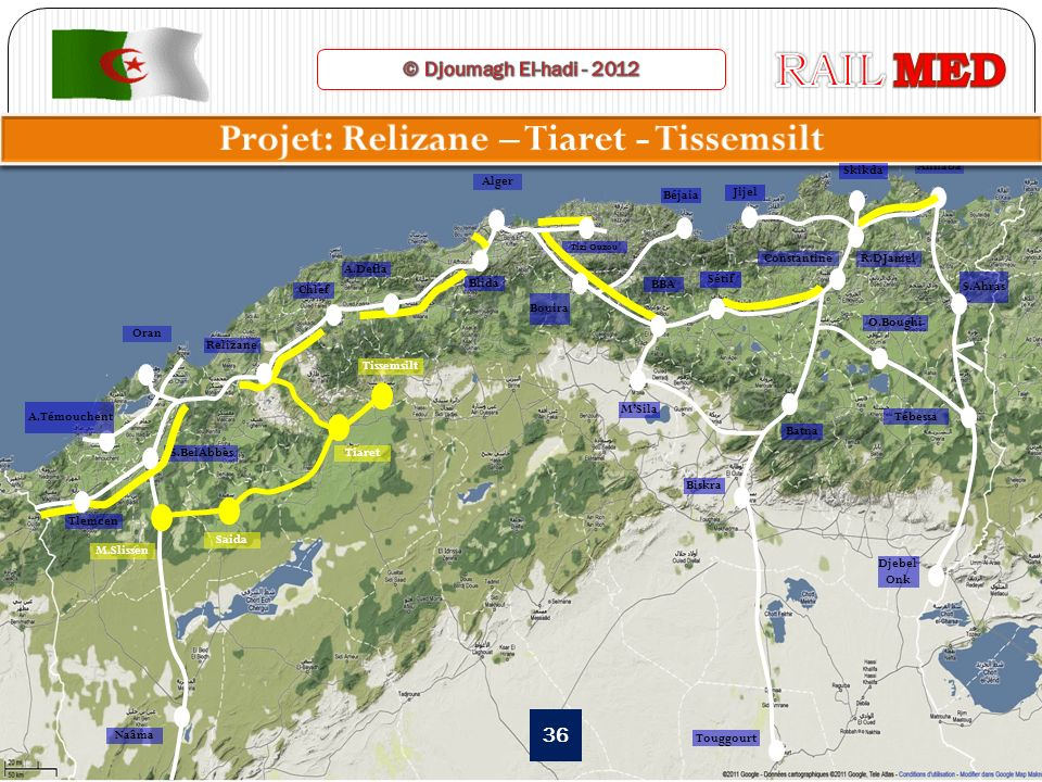 Projet: Relizane – Tiaret - Tissemsilt