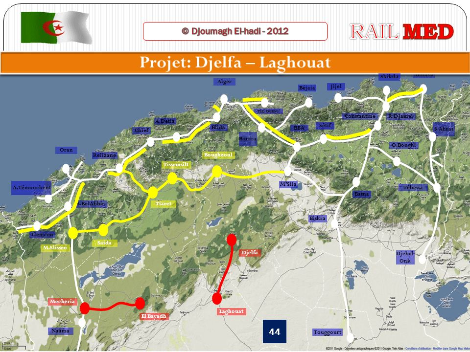 Projet: Djelfa – Laghouat