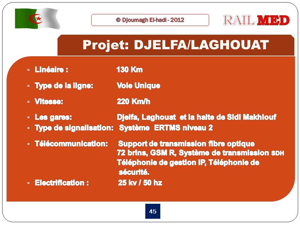 Projet: DJELFA/LAGHOUAT