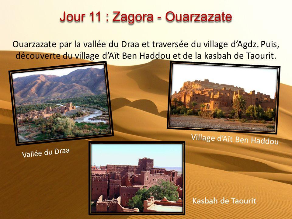 Jour 11 : Zagora - Ouarzazate