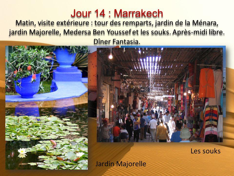 Jour 14 : Marrakech