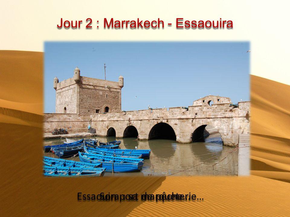 Jour 2 : Marrakech - Essaouira