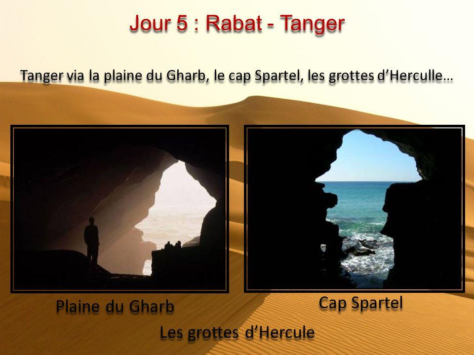 Tanger via la plaine du Gharb, le cap Spartel, les grottes d'Herculle…