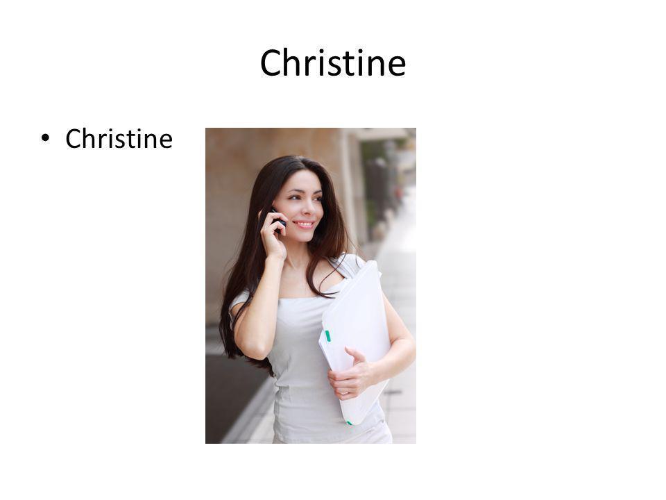 Christine Christine