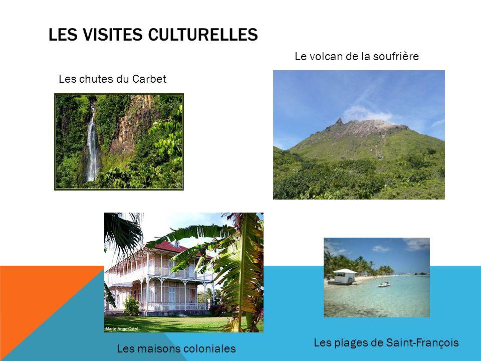Les visites culturelles