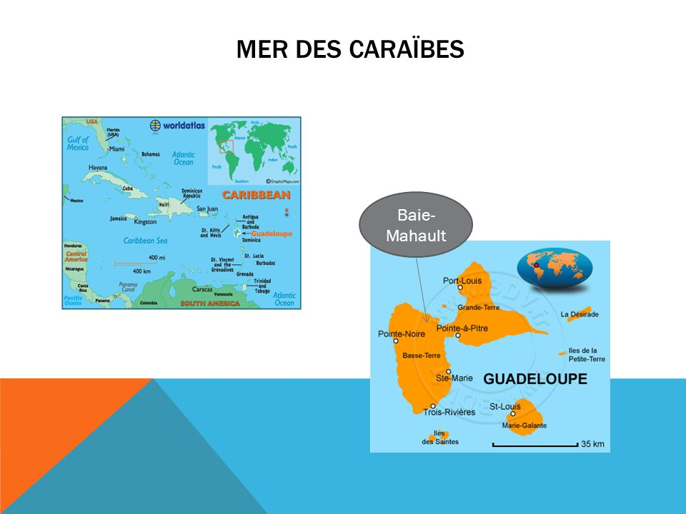 mer des caraïbes Baie-Mahault