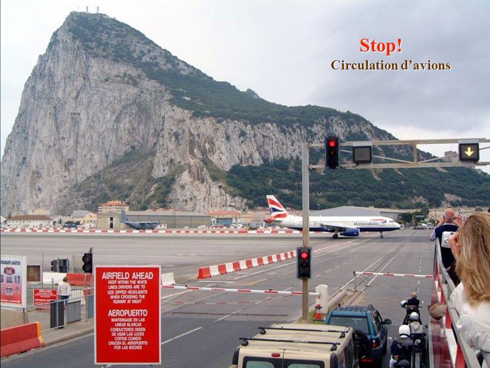 Stop! Circulation d'avions