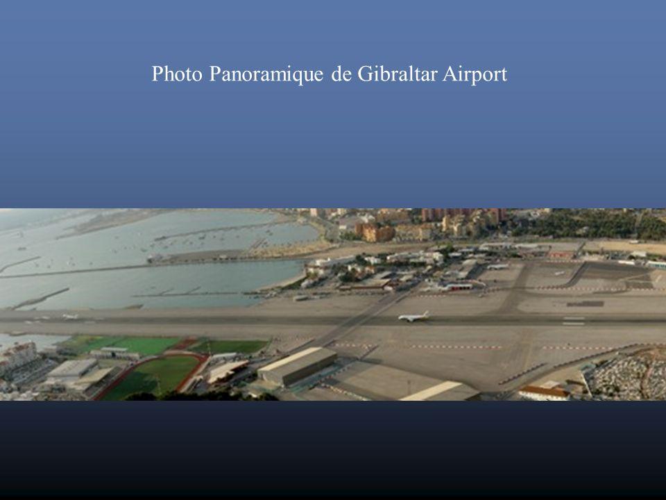 Photo Panoramique de Gibraltar Airport