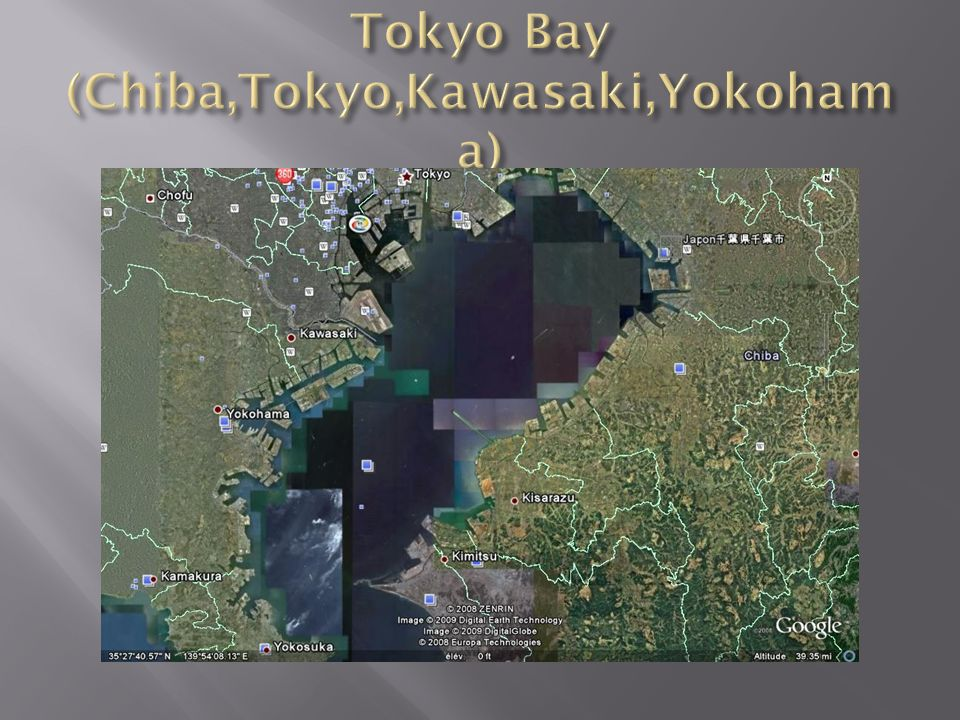 Tokyo Bay (Chiba,Tokyo,Kawasaki,Yokohama)