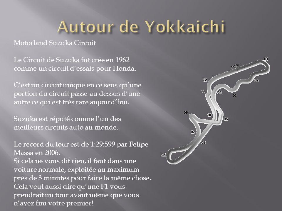Autour de Yokkaichi Motorland Suzuka Circuit