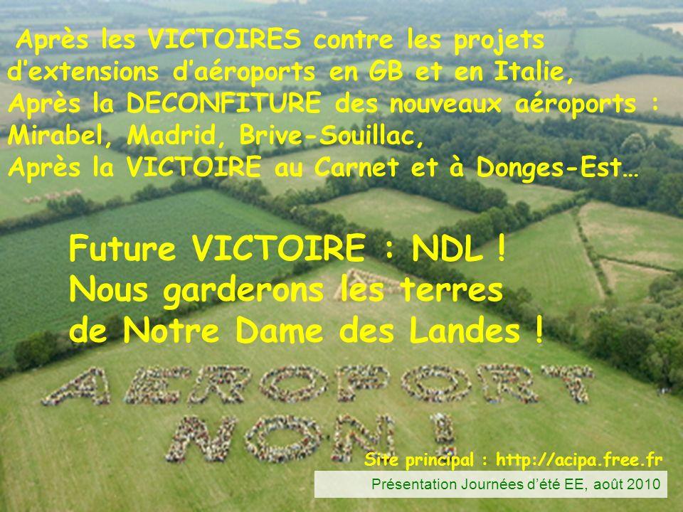 Nous garderons les terres de Notre Dame des Landes !