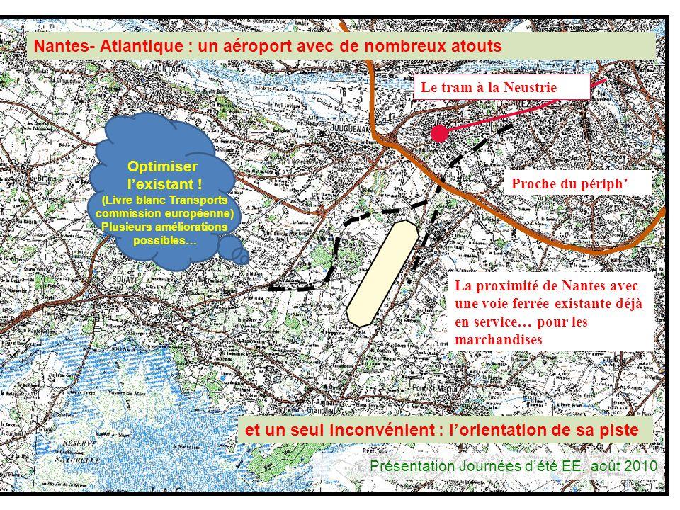 Nantes- Atlantique : un aéroport avec de nombreux atouts