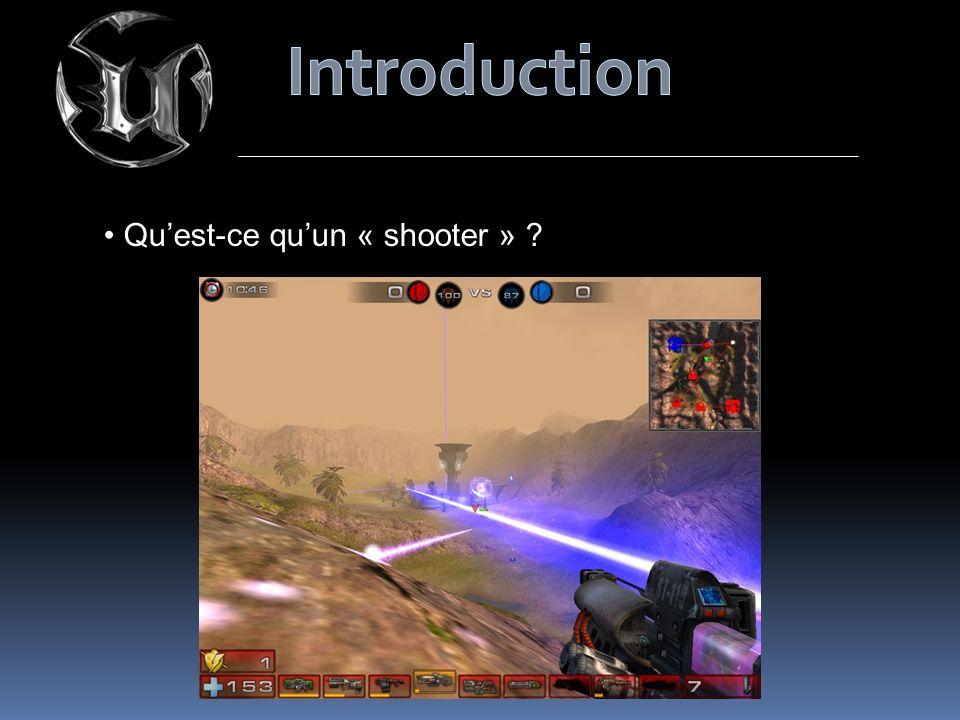 Introduction Qu'est-ce qu'un « shooter »