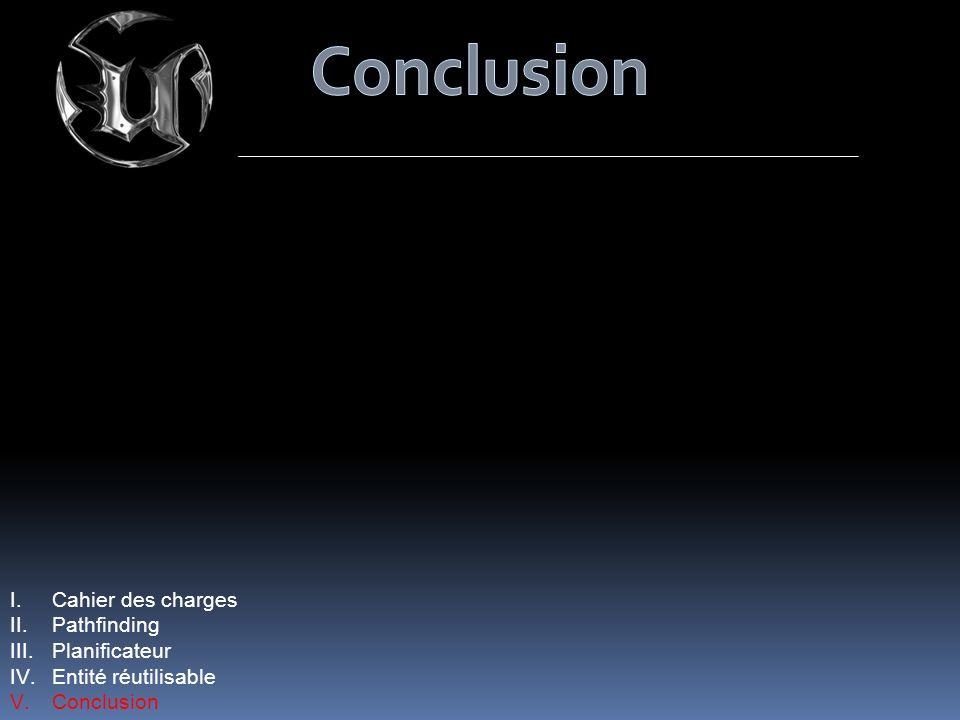 Conclusion Cahier des charges Pathfinding Planificateur