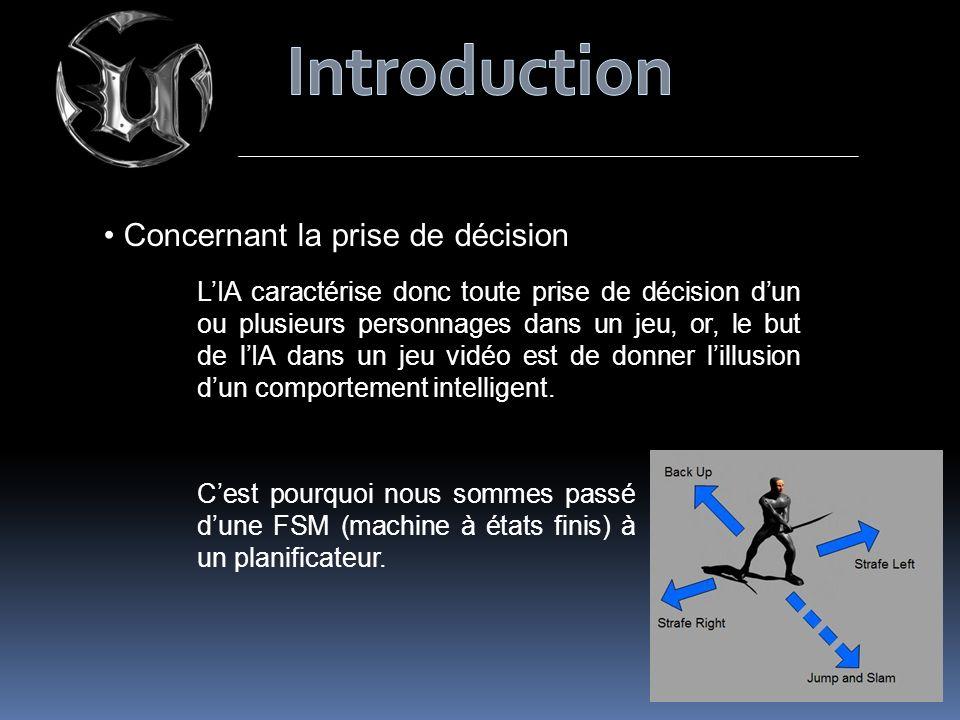 Introduction Concernant la prise de décision