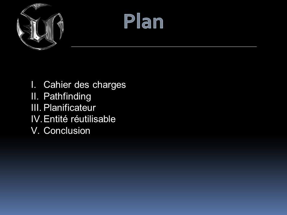 Plan Cahier des charges Pathfinding Planificateur Entité réutilisable