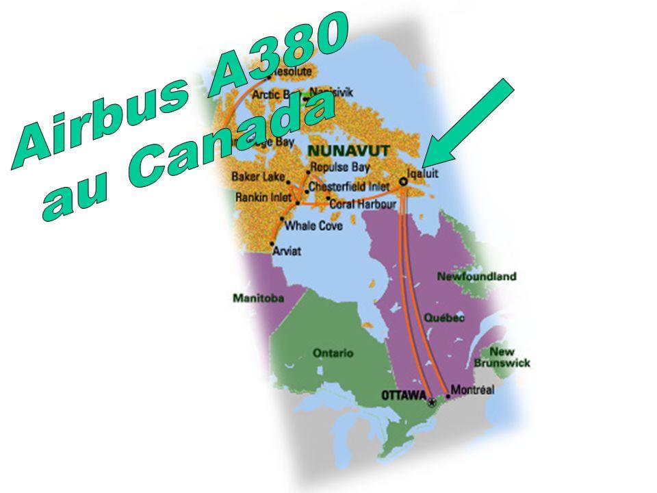 Airbus A380 au Canada