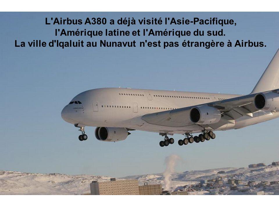 L Airbus A380 a déjà visité l Asie-Pacifique,