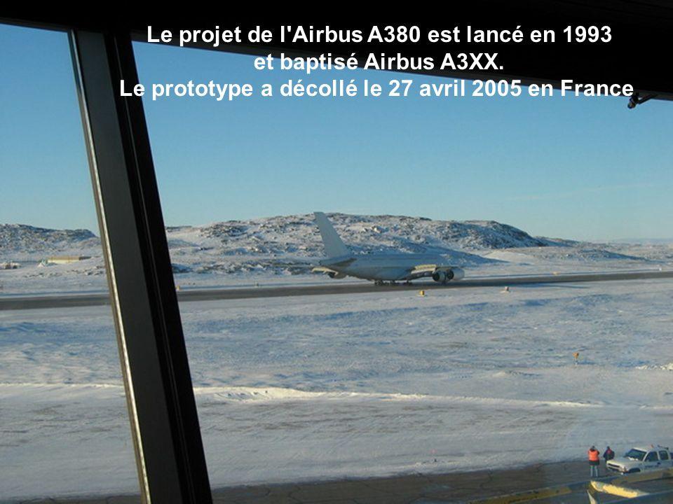 Le projet de l Airbus A380 est lancé en 1993