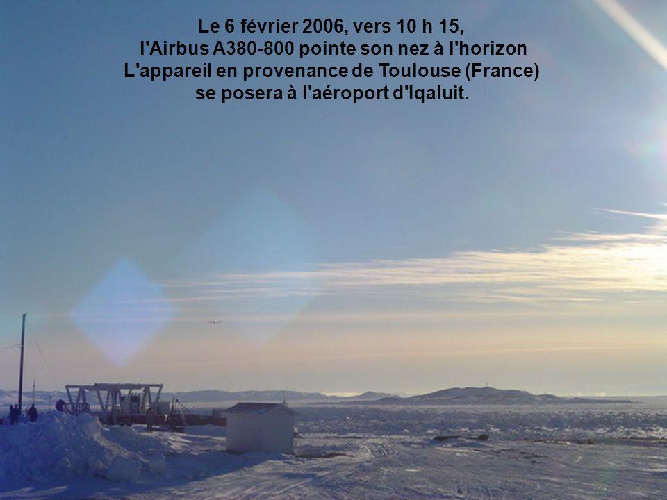 se posera à l aéroport d Iqaluit.