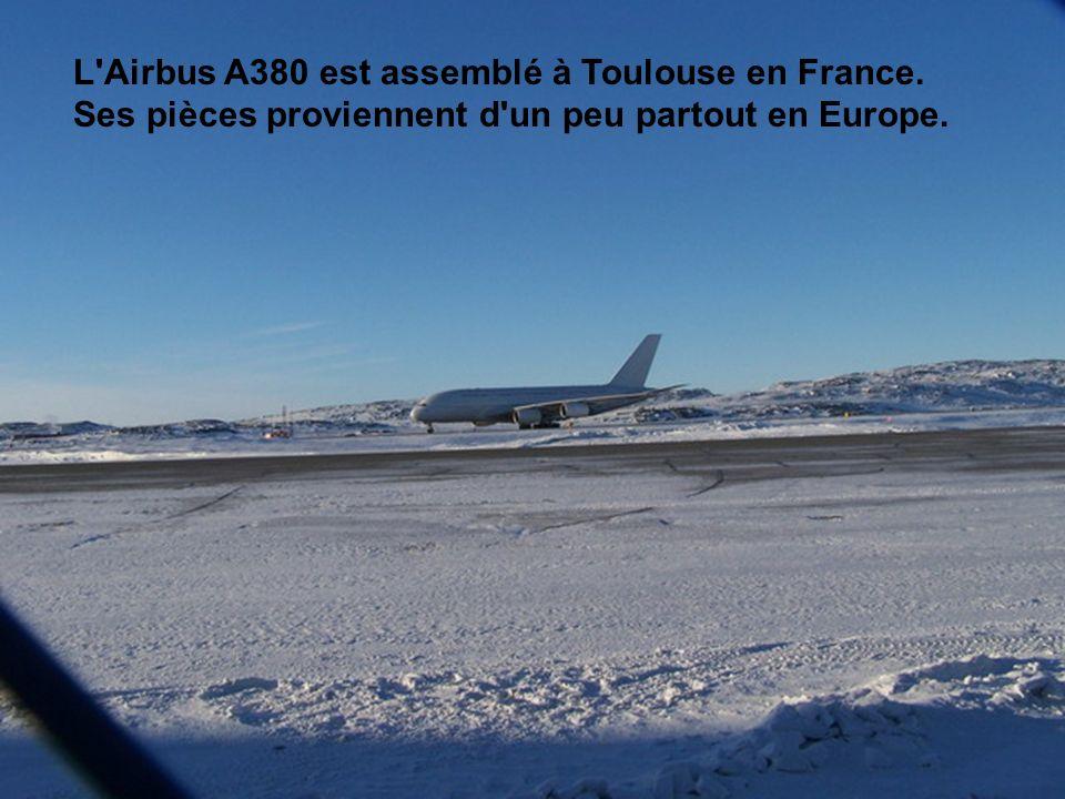 L Airbus A380 est assemblé à Toulouse en France