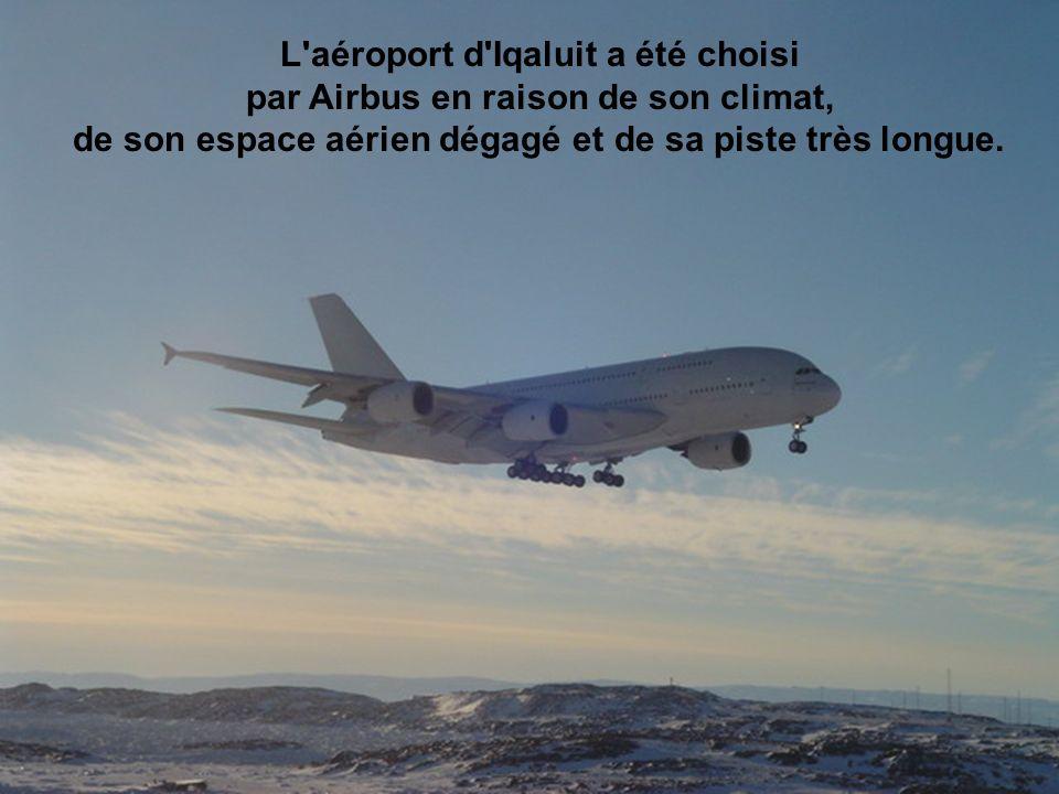 L aéroport d Iqaluit a été choisi