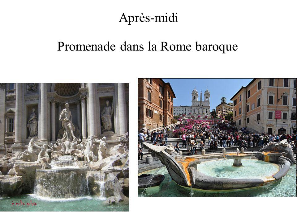 Promenade dans la Rome baroque