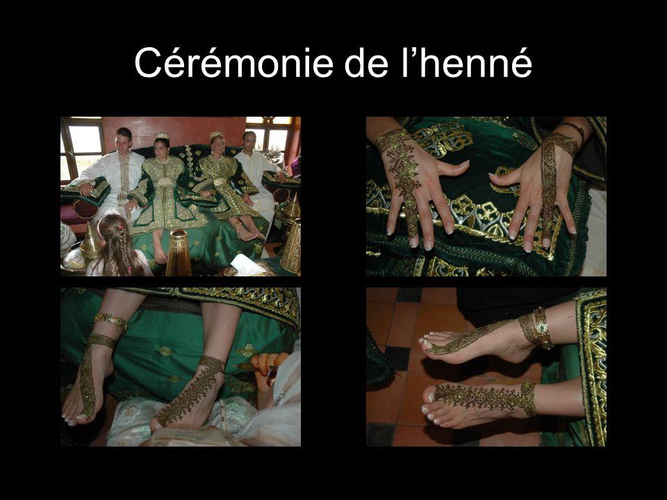 Cérémonie de l'henné