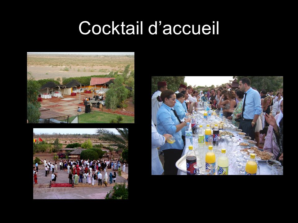 Cocktail d'accueil