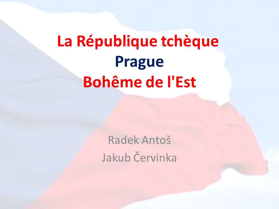 La République tchèque Prague Bohême de l Est