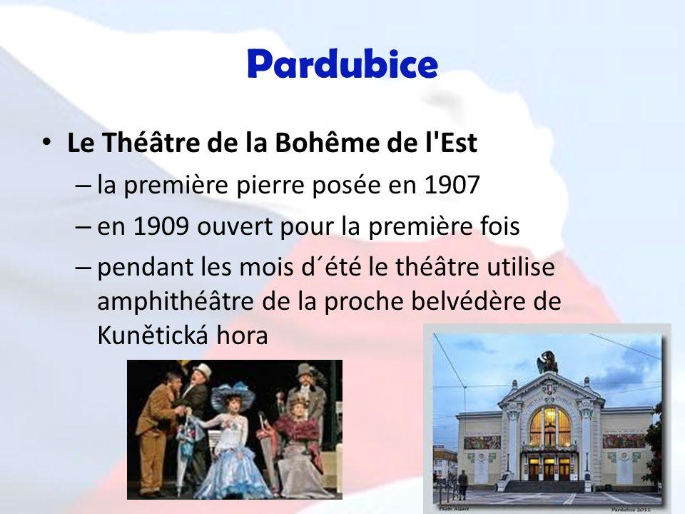 Pardubice Le Théâtre de la Bohême de l Est