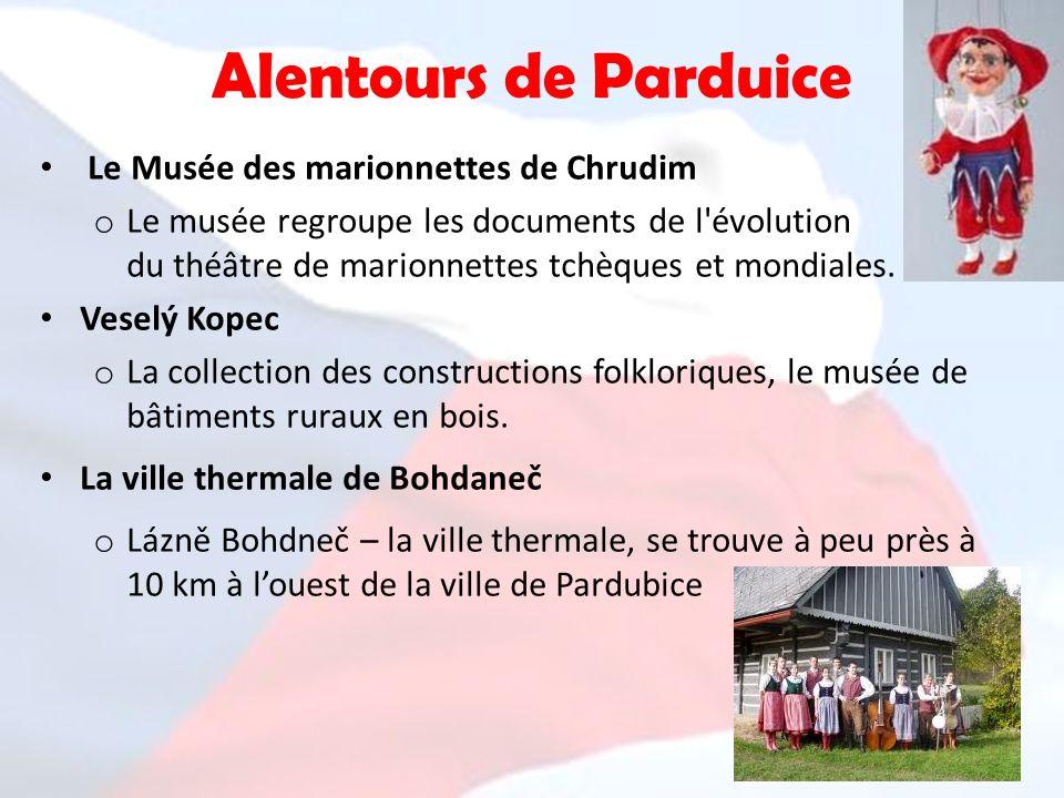 Alentours de Parduice Le Musée des marionnettes de Chrudim