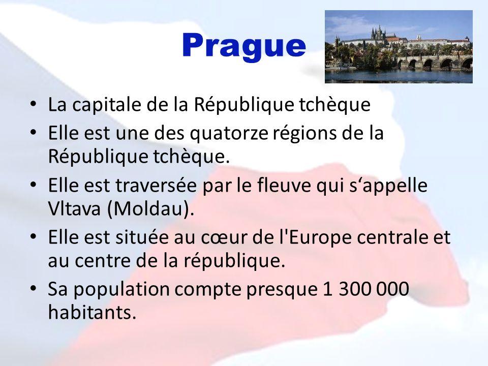 Prague La capitale de la République tchèque