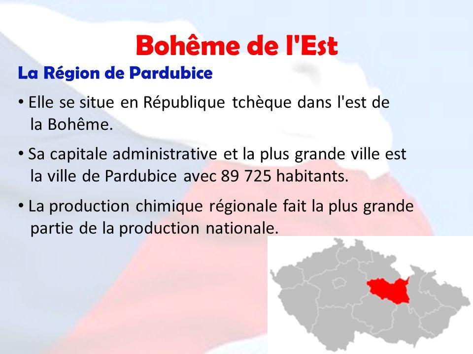 Bohême de l Est La Région de Pardubice