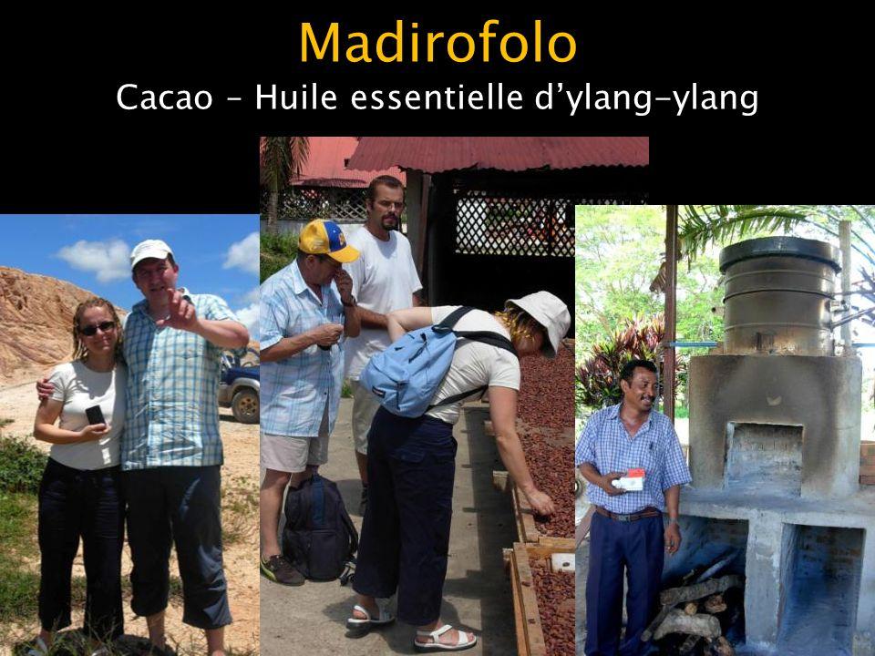 Madirofolo Cacao – Huile essentielle d'ylang-ylang
