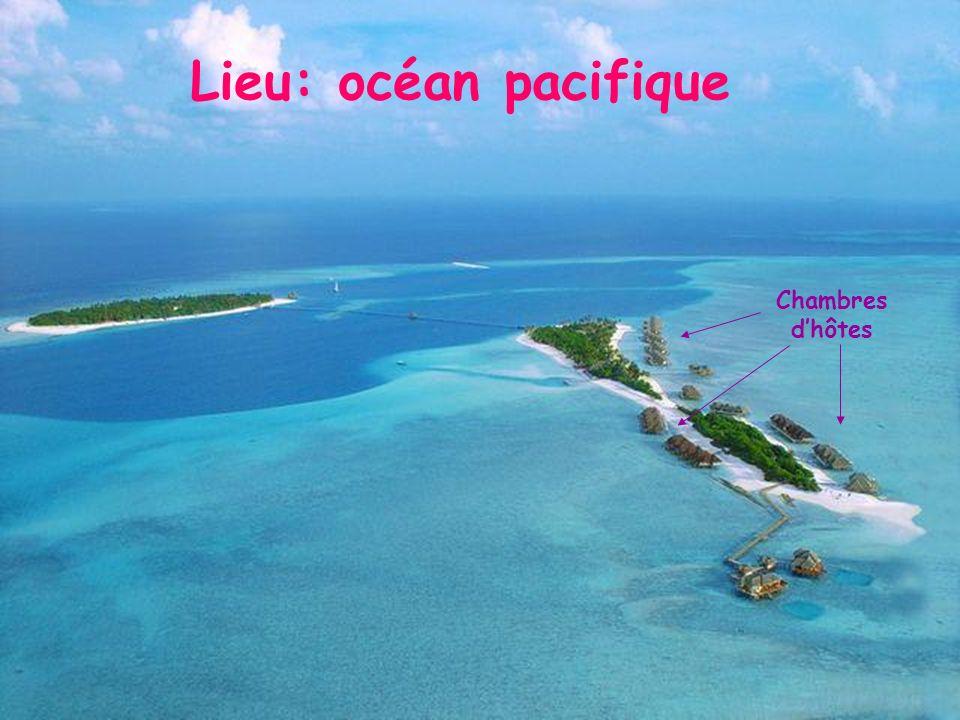 Lieu: océan pacifique Chambres d'hôtes