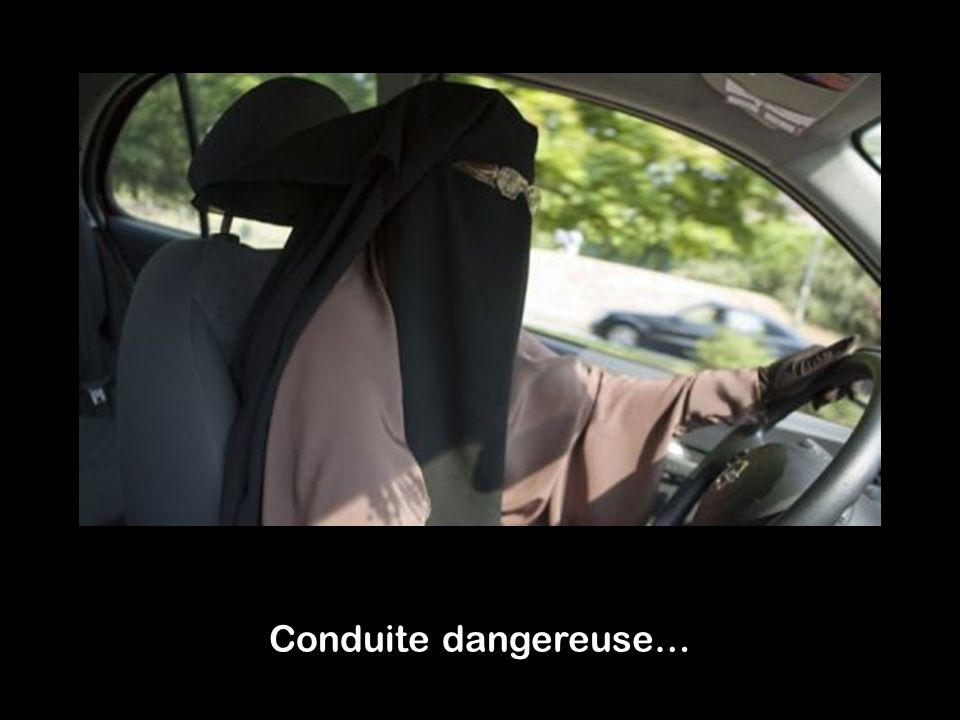 Conduite dangereuse…