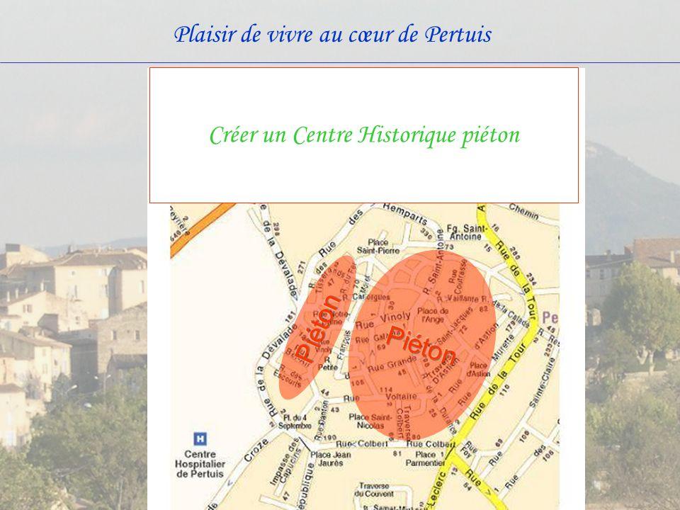 Créer un Centre Historique piéton